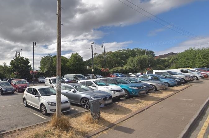 The Nelson Street car park in Chepsow is one of the short-term parking sites with new rules
