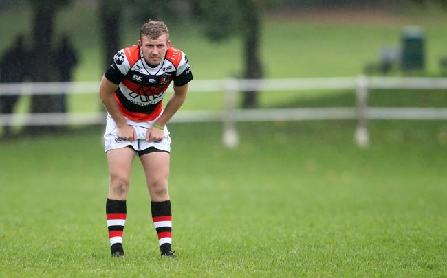 Matthew Lewis' late try won the game for Pontypool at Narberth