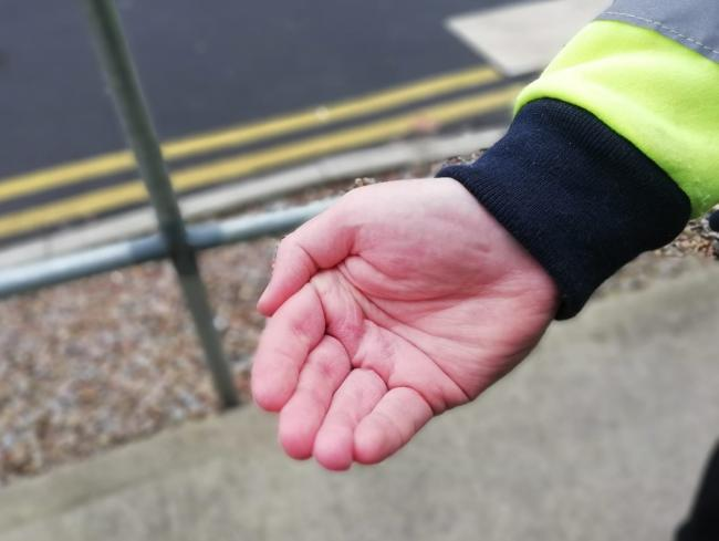 Money snatched of out elderly victims' hands by rogue traders