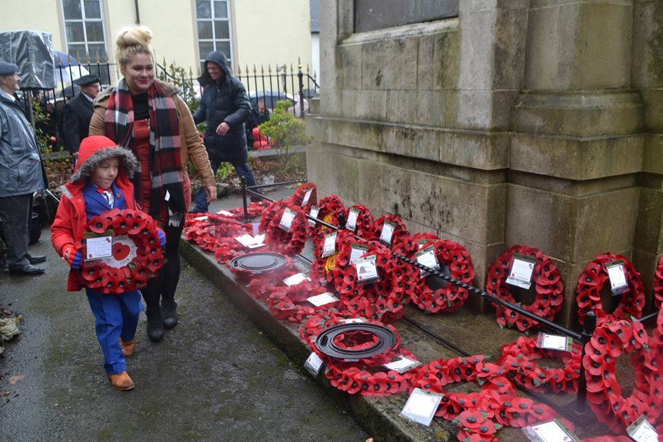 The Remembrance Day service is one of the annual projects that is funded by the Town Council. Picture: Blaenavon Town Council.