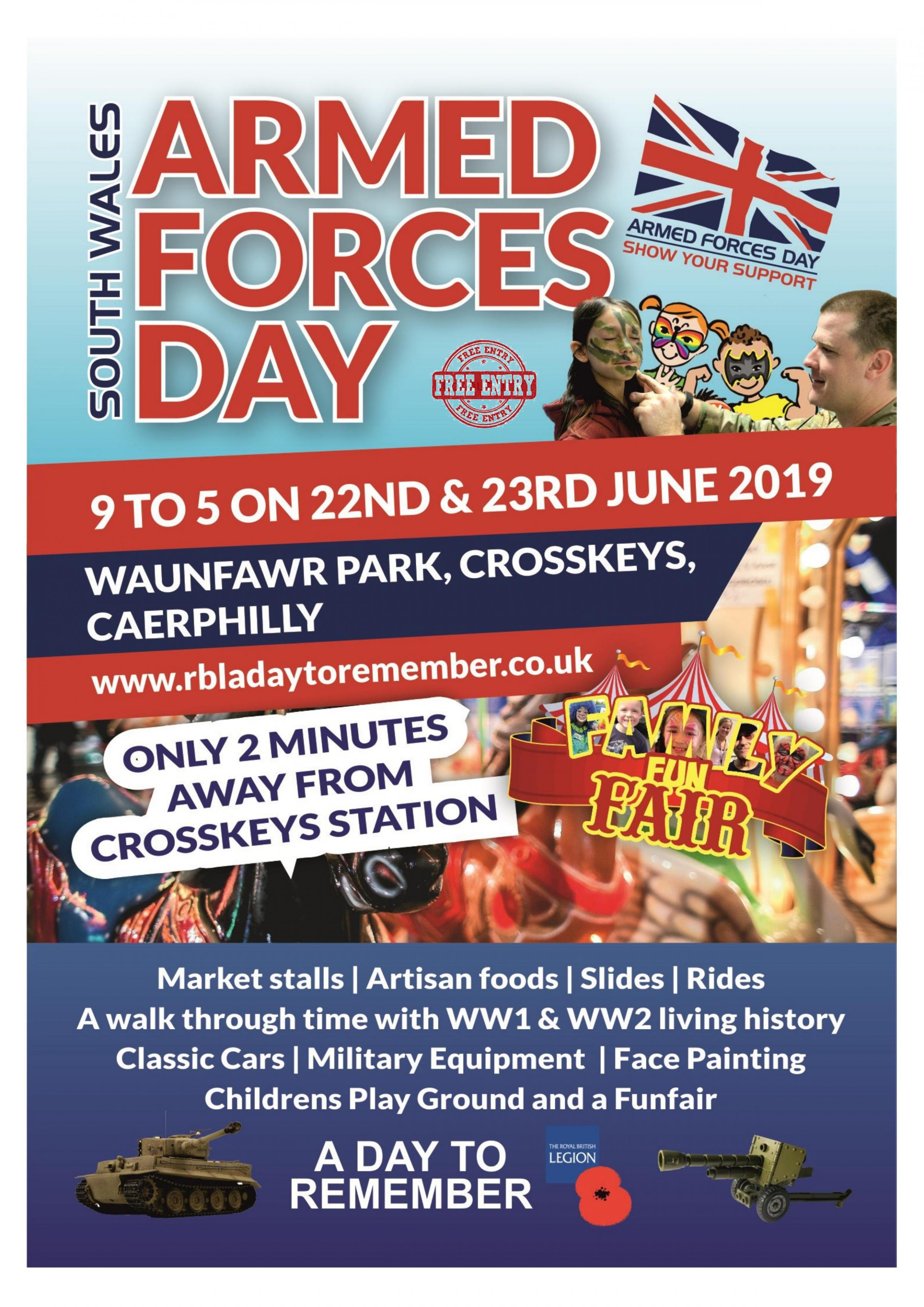 South Wales Armed Forces Day Weekend