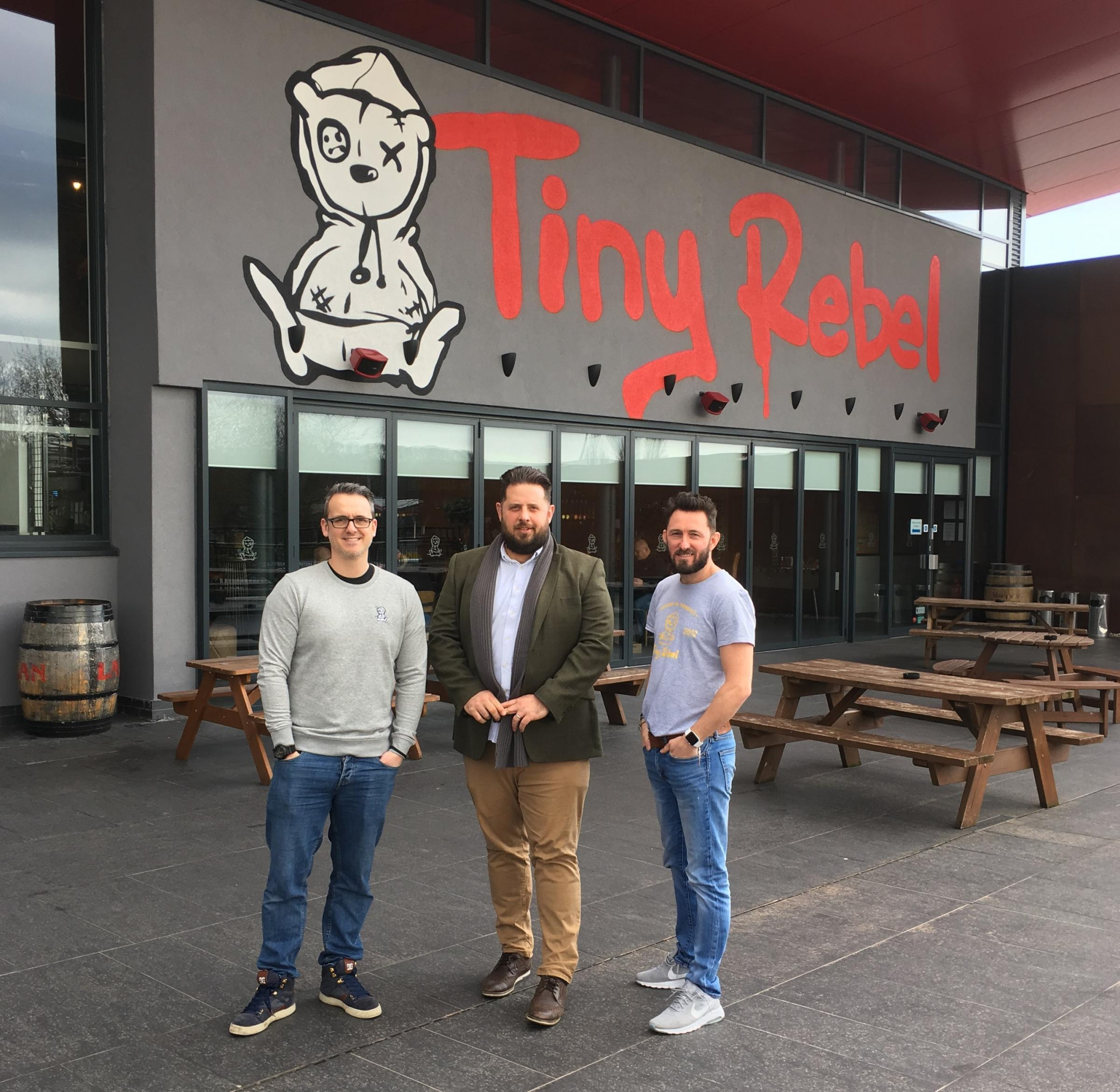 Dragons choose Tiny Rebel