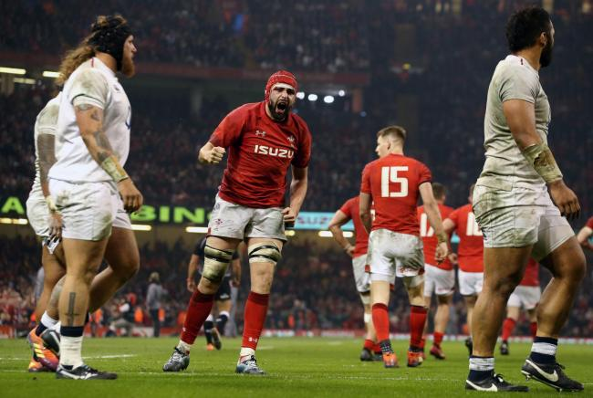 Ankle blow rules Wales lock Hill out of England clash