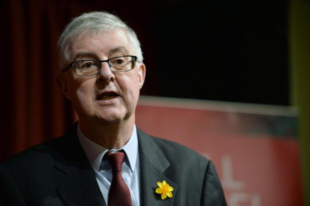 Free Press Series: First minister Mark Drakeford.