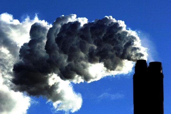 Smoke from a coal fired power station. Picture: PA