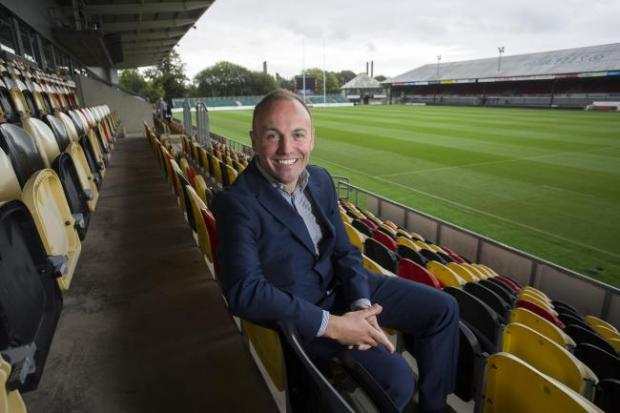 Free Press Series: OPTIMISTIC: Dragons chairman David Buttress