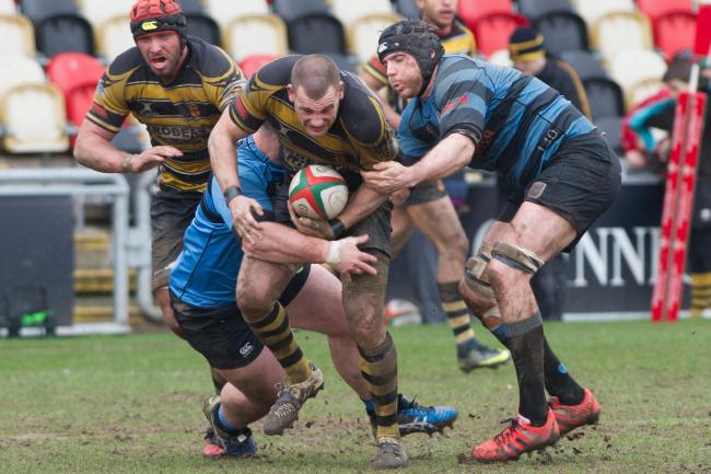 RESTED: Rhys Jenkins will be rested for Newport's game with Neath
