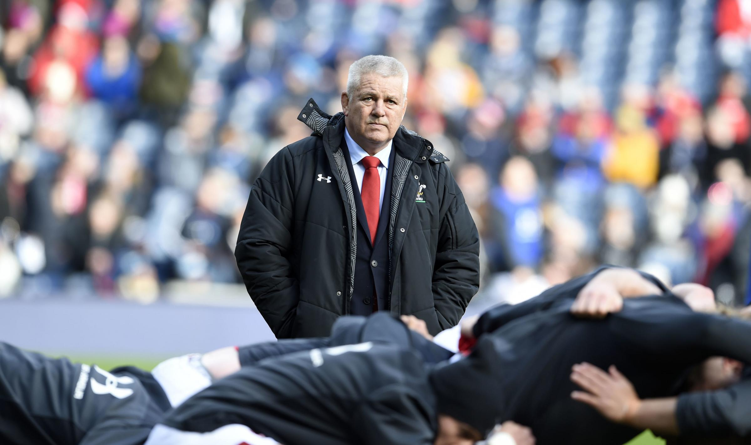 Wales head coach Warren Gatland prior to the Guinness Six Nations match at BT Murrayfield, Edinburgh. PRESS ASSOCIATION Photo. Picture date: Saturday March 9, 2019. See PA story RUGBYU Scotland. Photo credit should read: Ian Rutherford/PA Wire. RESTRICTI