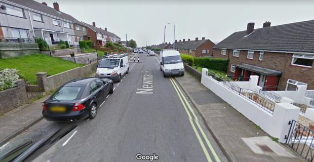Free Press Series: Newman Road in Pontypool which was deemed a hotspot by Gwent Police in 2018. Picture: Google