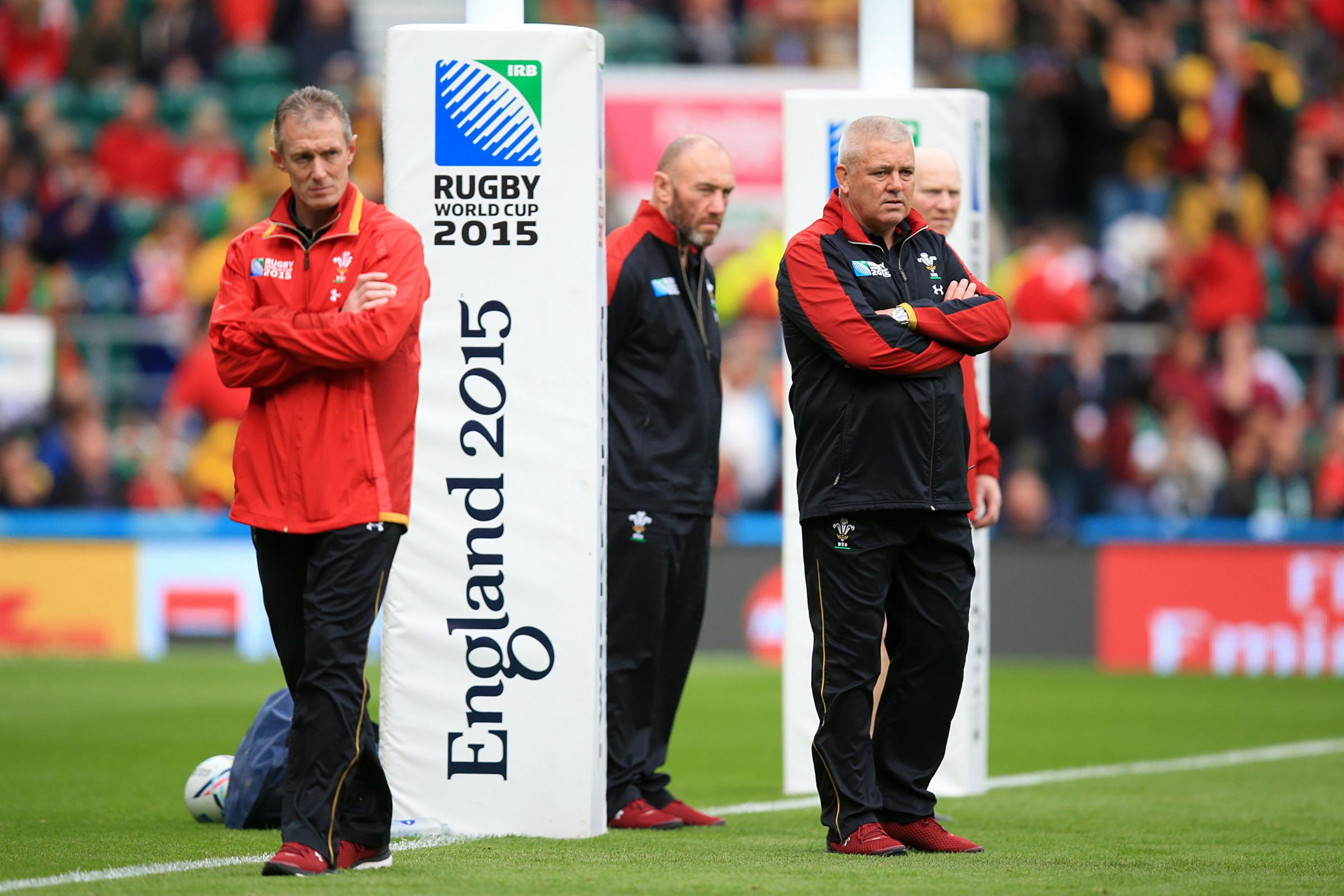 CONTENDERS: Rob Howley and Robin McBryde are on the Dragons' radar