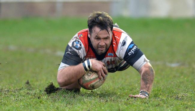 Pontypool's Jamie Jeune celebrated his 250th appearance for the club on Saturday. File picture: christinsleyphotography.co.uk
