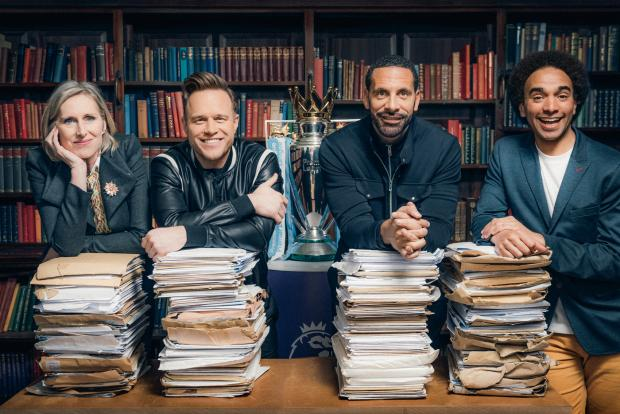 Free Press Series: Judges Lauren Child, Olly Murs, Rio Ferdinand, and Joseph Coelho.