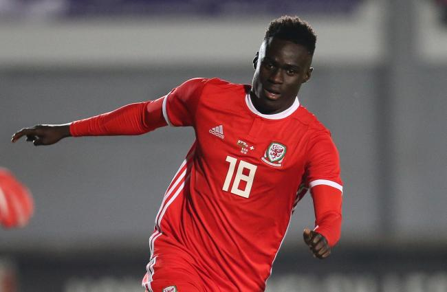 DEBUT: Momodou Touray won his first Wales under-21 cap as a substitute against Switzerland at Rodney Parade last October