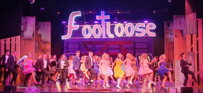 Young Venture Players perform Footloose at Dolman Theatre