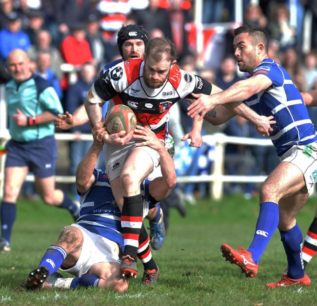 KEY FIGURE: Geraint Walsh's big-game temperament will be vital for Pontypool in their promotion/relegation play-off against Llanelli