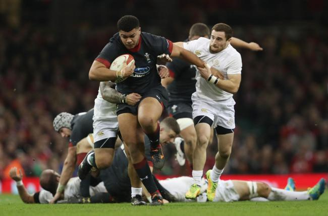 JAPAN HOPEFUL: Dragons prop Leon Brown has to climb the pecking order to earn World Cup selection