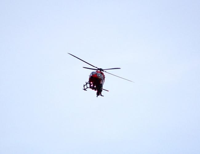 A Wales Air Ambulance helicopter. Picture: South Wales Argus Camera Club member Matt Hawkins.