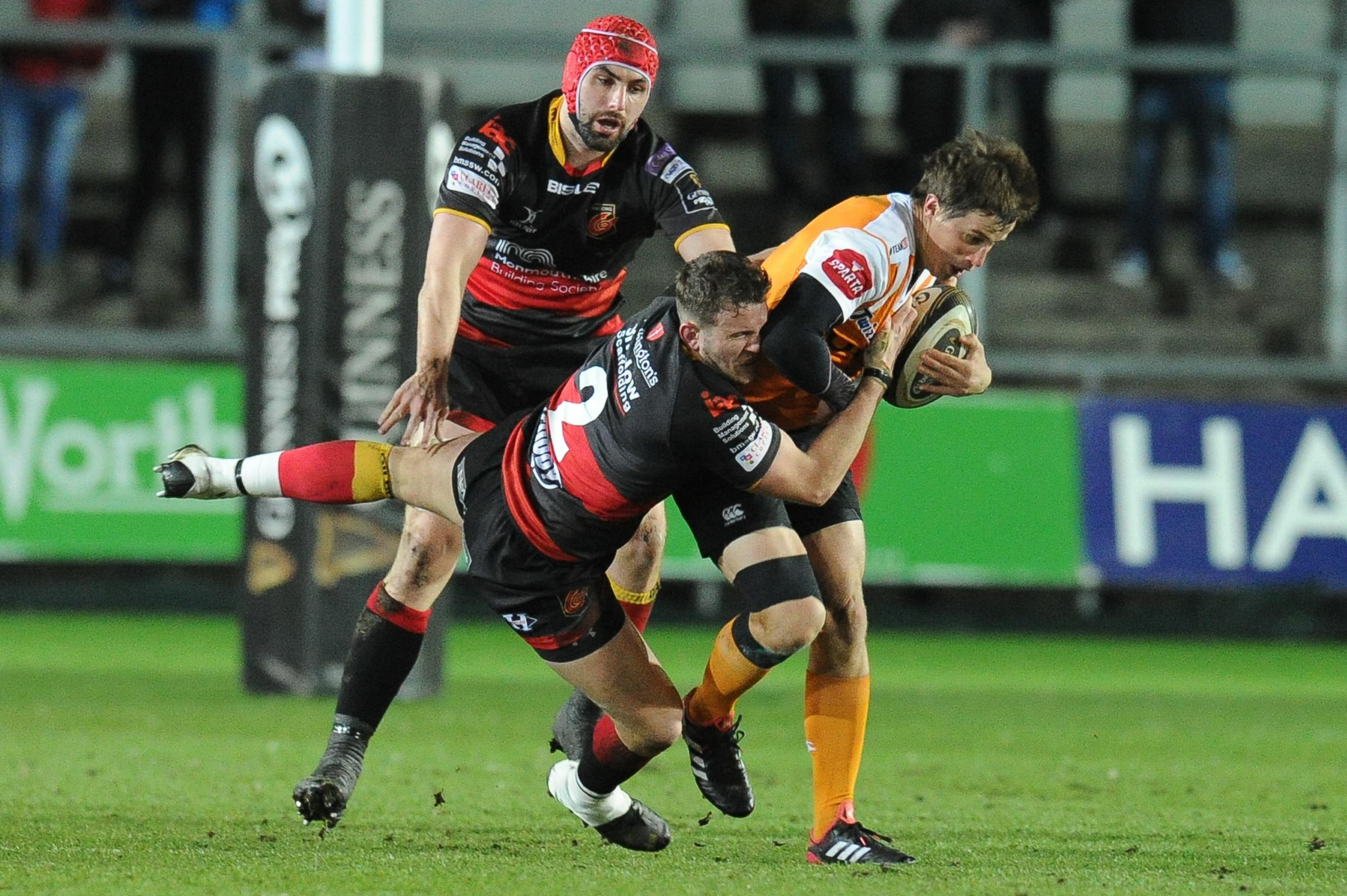 TALISMAN: Dragons hooker Elliot Dee will lead the charge against the Cheetahs
