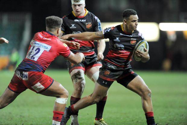 Free Press Series: LIVEWIRE: Wing Ashton Hewitt will provide the Dragons with more of a cutting edge