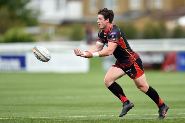 LACK OF GAME TIME: Scrum-half Rhodri Davies