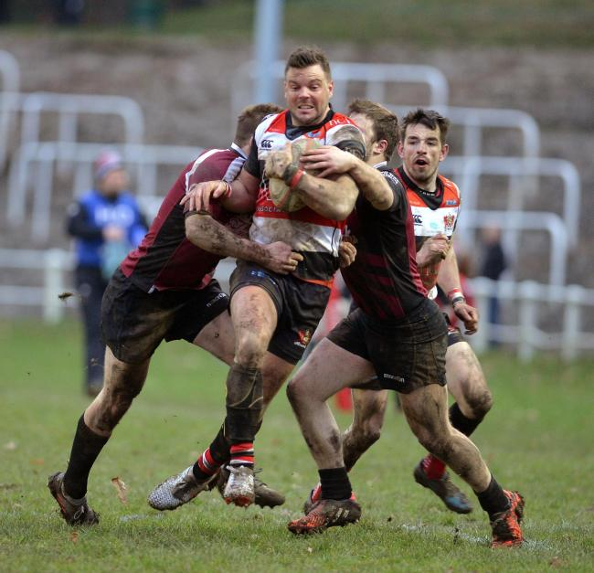 Rhodri Usher was among the Pontypool try scorers against Bedlinog. File picture: christinsleyphotography.co.uk