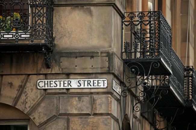 Chester Street sign