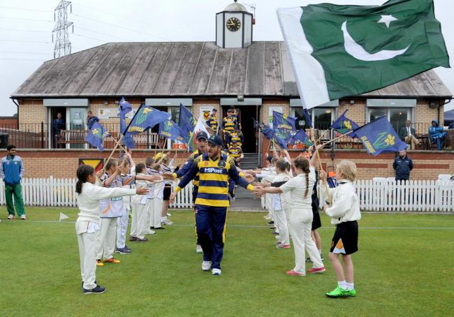 GREAT GROUND: Glamorgan will take on Gloucestershire in Newport after the club hosted Pakistan A three years ago
