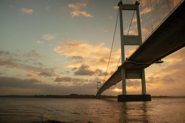 Full carriageway closures announced for maintenance work on the Severn Bridges. Picture: South Wales Argus Camera Club member Tommy Hopkins