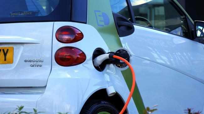 A stock image of an electric car charging Pic: Pixabay