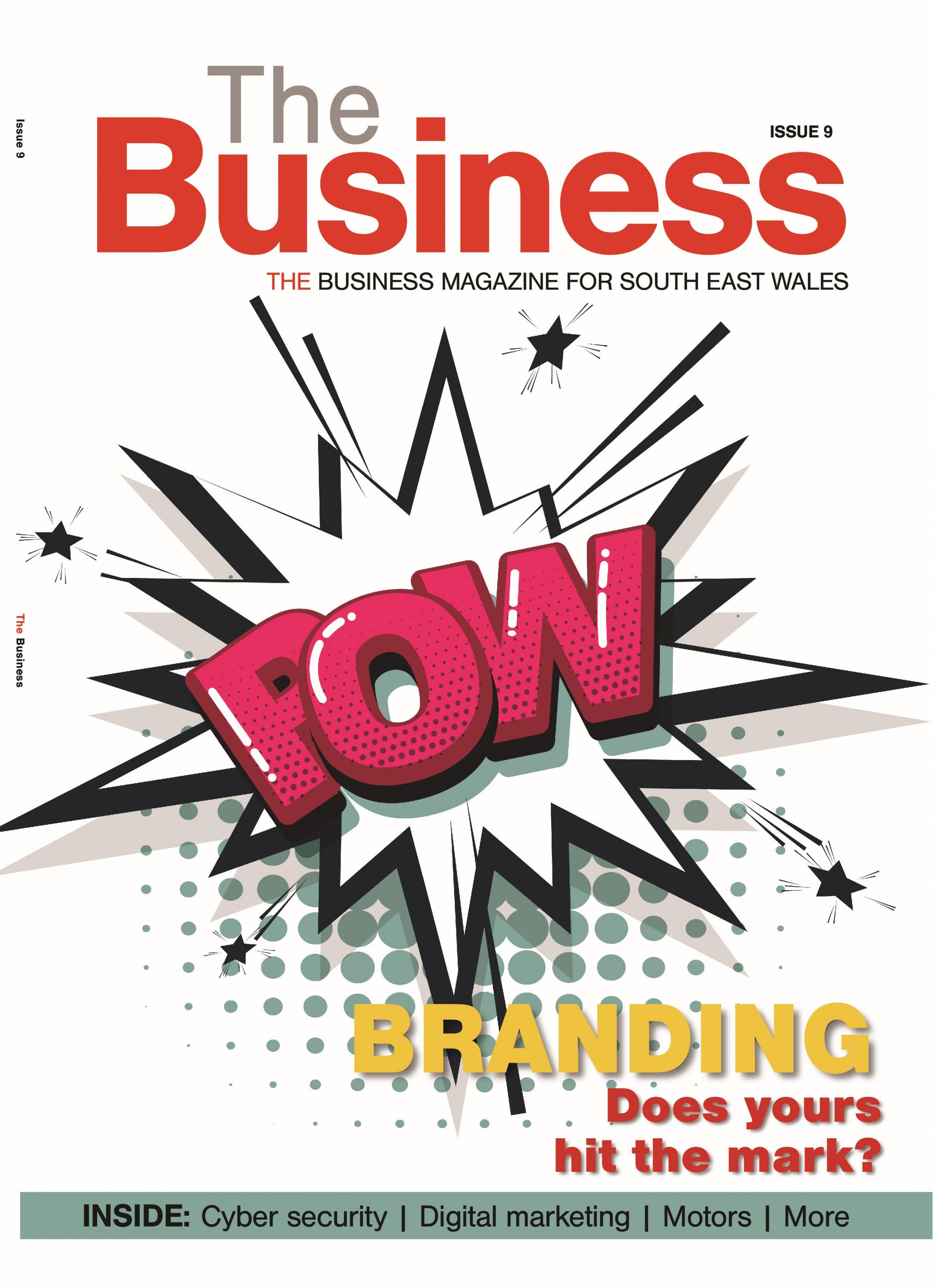 THE BUSINESS: Issue 9 and it's all about branding