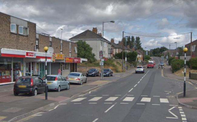13-year-old hit by car on zebra crossing outside Spar store. Picture: Google