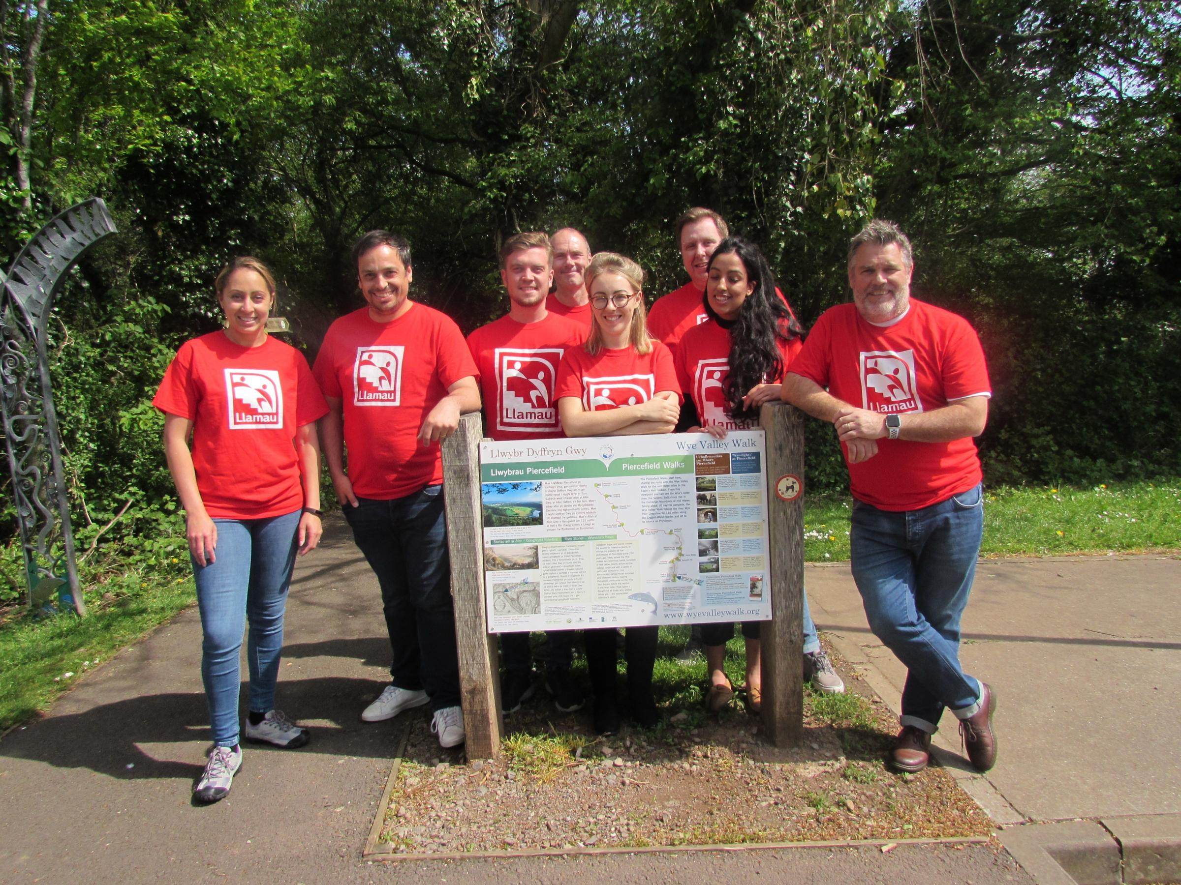 Communications agency Cohesive has organised a charity walk to help stamp out homelessness