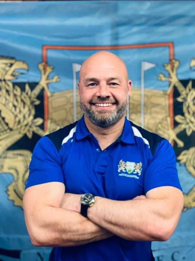 NEW BOSS: Newbridge have appointed Jason Williams as head coach
