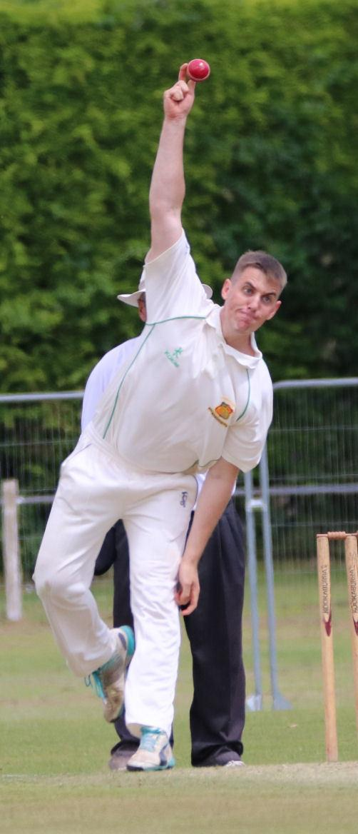 Mitchell Harris took 6-28 and was undefeated on 53 as Chepstow Firsts beat Cardiff Gymkhana