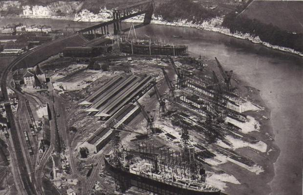 Free Press Series: This is how the site looked in its shipyard days.