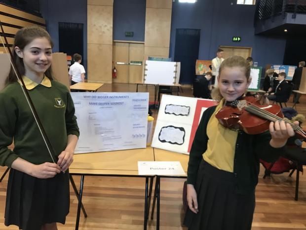 Free Press Series: Raglan Primary School pupils Gabby Harris and Sophie Baker were highly commended for their musical project.