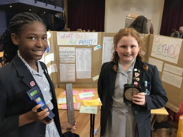 Free Press Series: Monmouth School Girls' Prep pupils Stacey Mushangwe and Lucy Hughes.