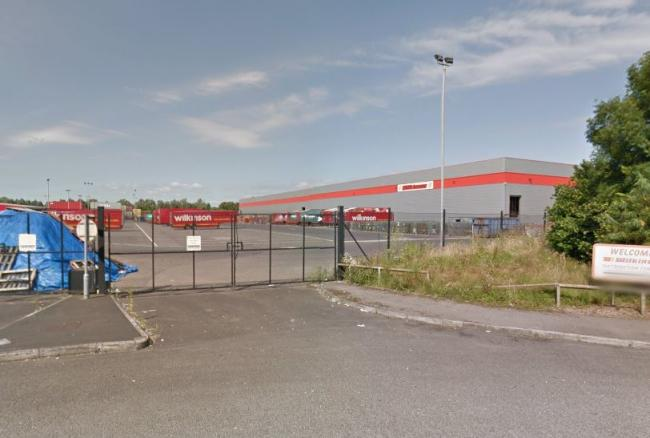 The Wilko distribution centre in Magor. Picture: Google