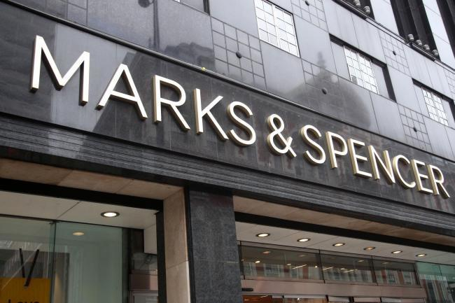 A Marks and Spencer shopfront in Weston-super-Mare.