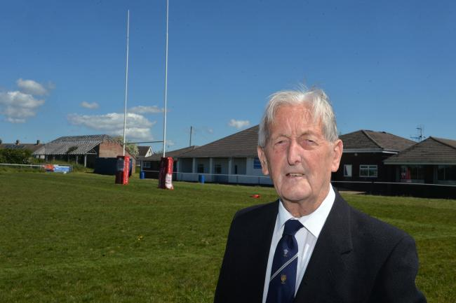 Rugby club's oldest living member, 93, stars in poignant short film as part of club's 150th anniversary celebrations