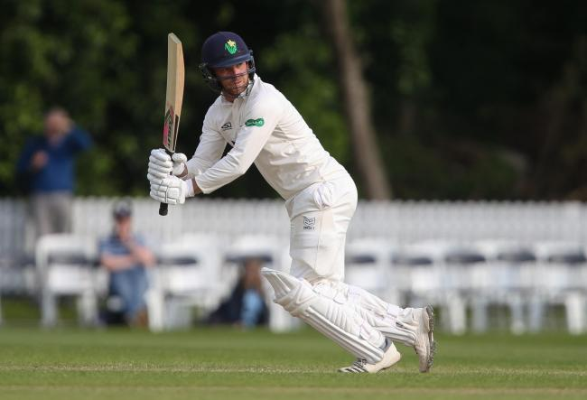 15.05.19 - Glamorgan v Gloucestershire, Specsavers County Championship Division 2, Day 2 - Graham Wagg of Glamorgan plays a shot