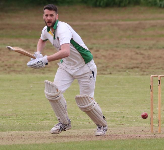 Steve Hepple took 4-44 for U&M in the defeat at Machen