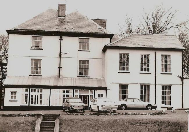 A house built in the mid-nineteenth century known as T? Mawr (or the Big House) was converted to Blaenavon Hospital. Picture: Torfaen Museum.