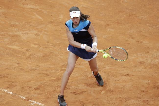 Johanna Konta has been in excellent form on clay this season