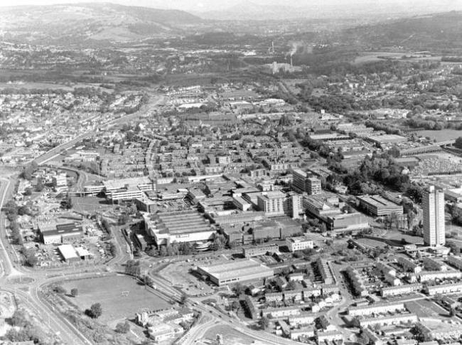 Cwmbran New Town celebrates 70 years since its inception. Picture: Torfaen Museum.