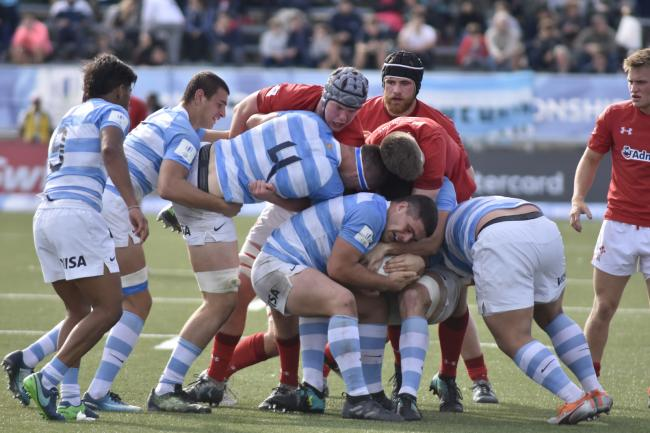TOUGH TEST: Wales Under-20s came out on top against Argentina (Picture: WORLD RUGBY)