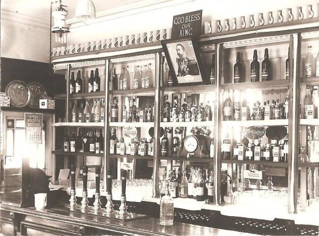 The Old Bath Beer House was on George Street in Pontypool. Picture: Torfaen Museum.