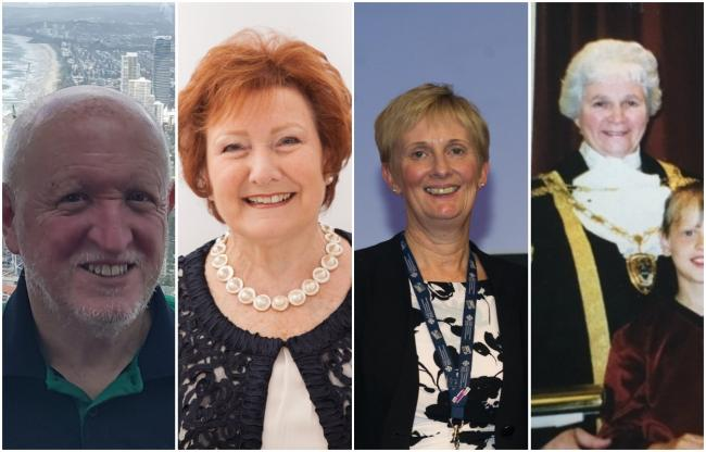 John Dallimore, Jean Church, Judith Paget and Gwyneira Clark were all recognised in the Queen's Birthday Honours list.