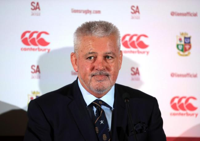 Gatland confirmed as Lions boss for South Africa tour