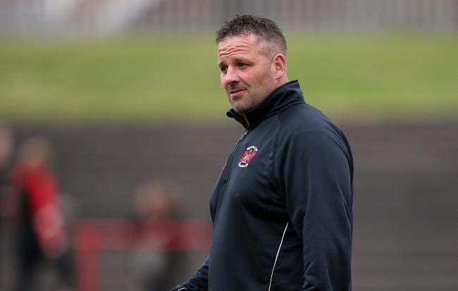CALLING THE SHOTS: Pontypool boss Leighton Jones wants his side to face tough pre-season fixtures